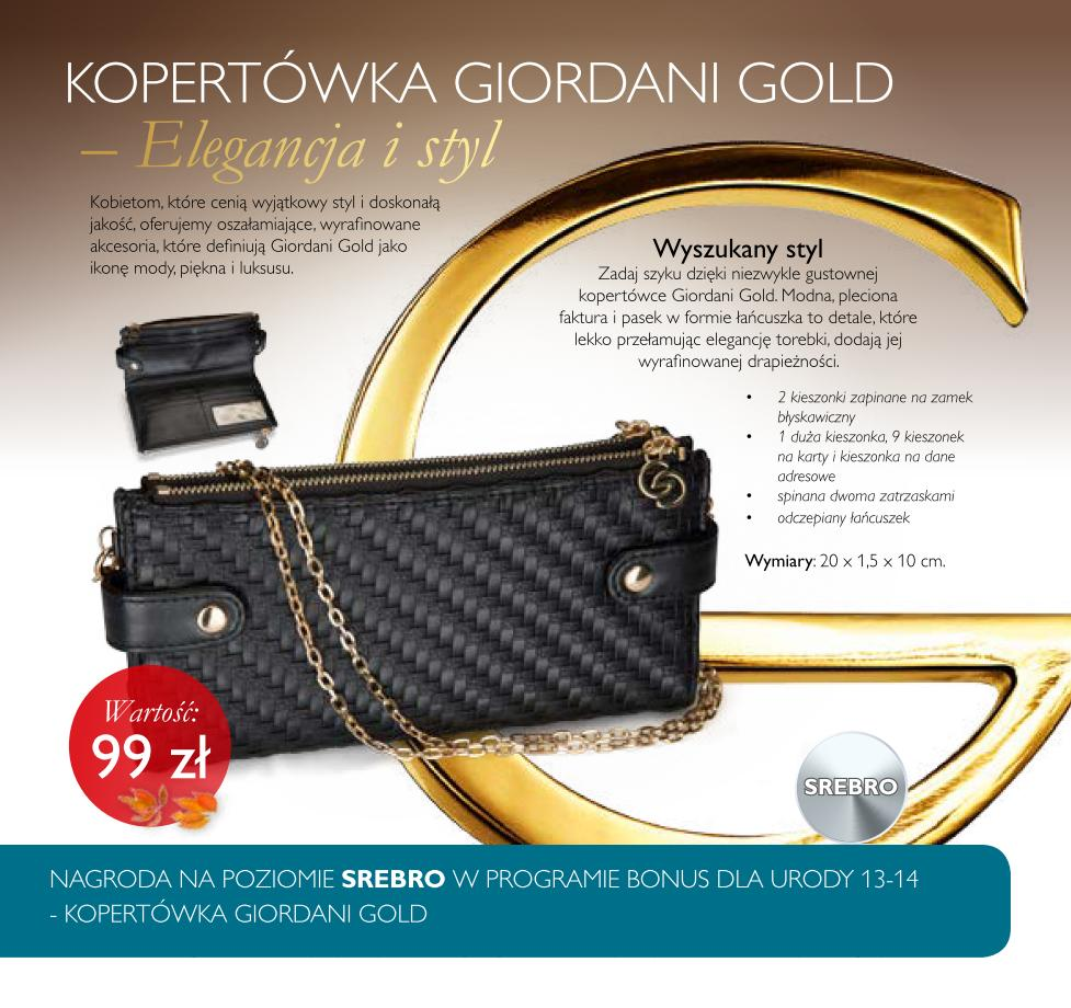 Katalog-Oriflame-13-2015-bonus-dla-urody-srebro-kopertówka