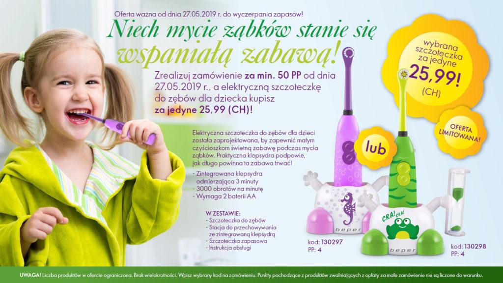 Oriflame szczoteczka dla dziecka