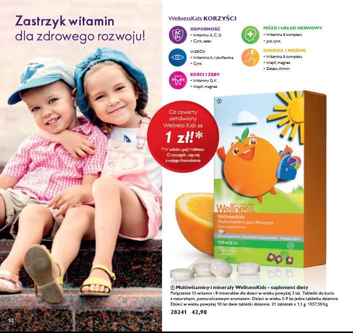 witaminy Oriflame dla dzieci