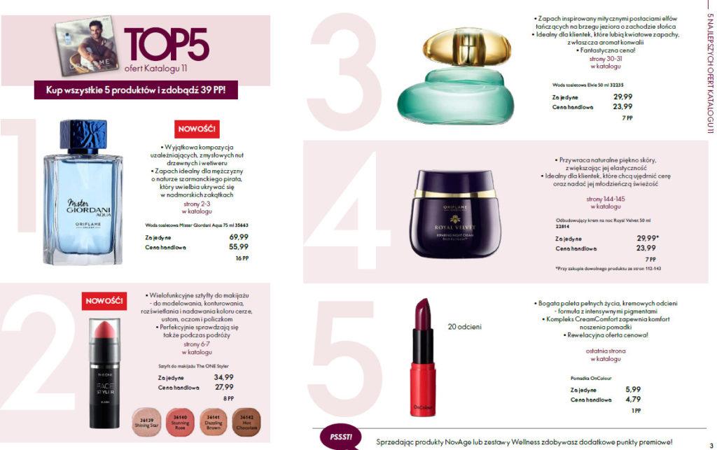 TOP katalog Oriflame