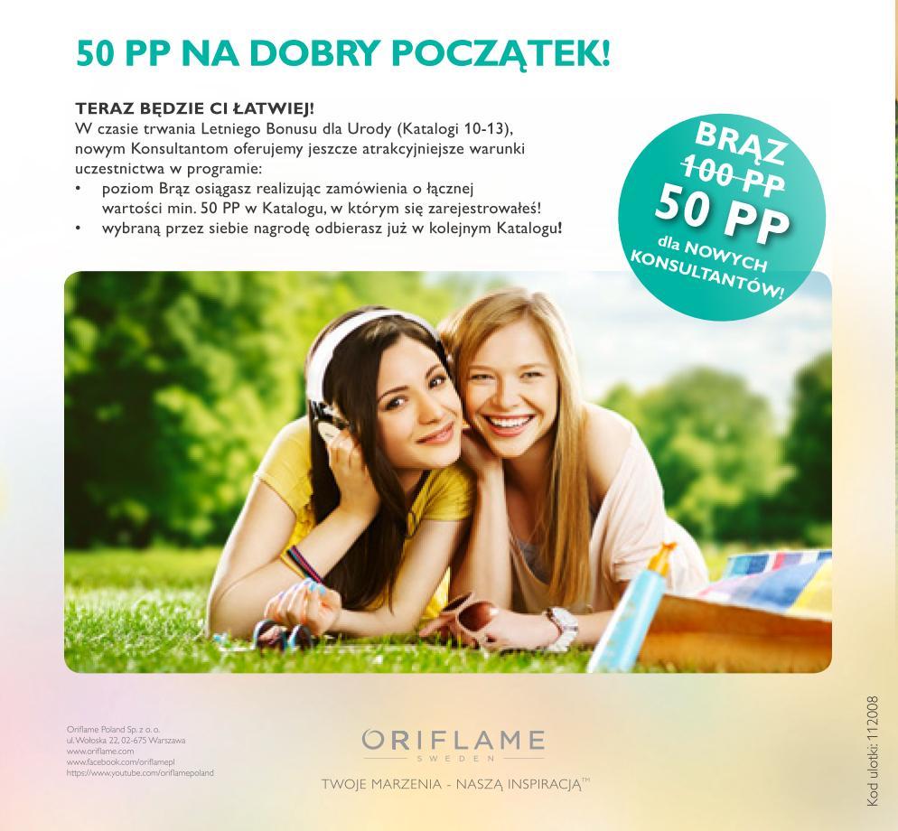 Katalog-Oriflame-10-2014-Bonus-dla-Urody-nowy-konsultant